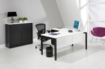 Wingbureau 4Q-Black 160x120cm links